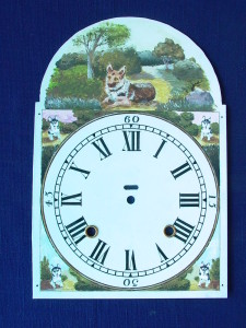 Painted Clock Dial