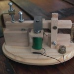 working model of a telegraph sounder