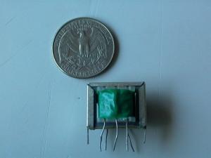 Audio matching transformer