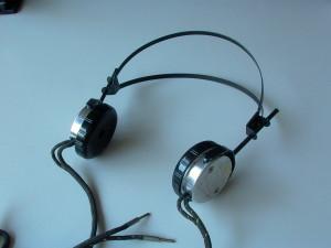 Antique headphones