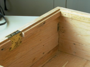 Inner ledge and lock