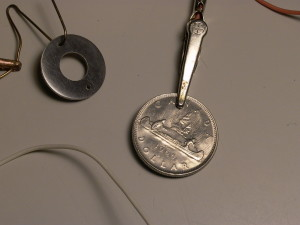 Old Canadian nickel dollar as a source of Ni for plating