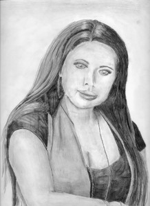 Pencil Drawing of Karina S.